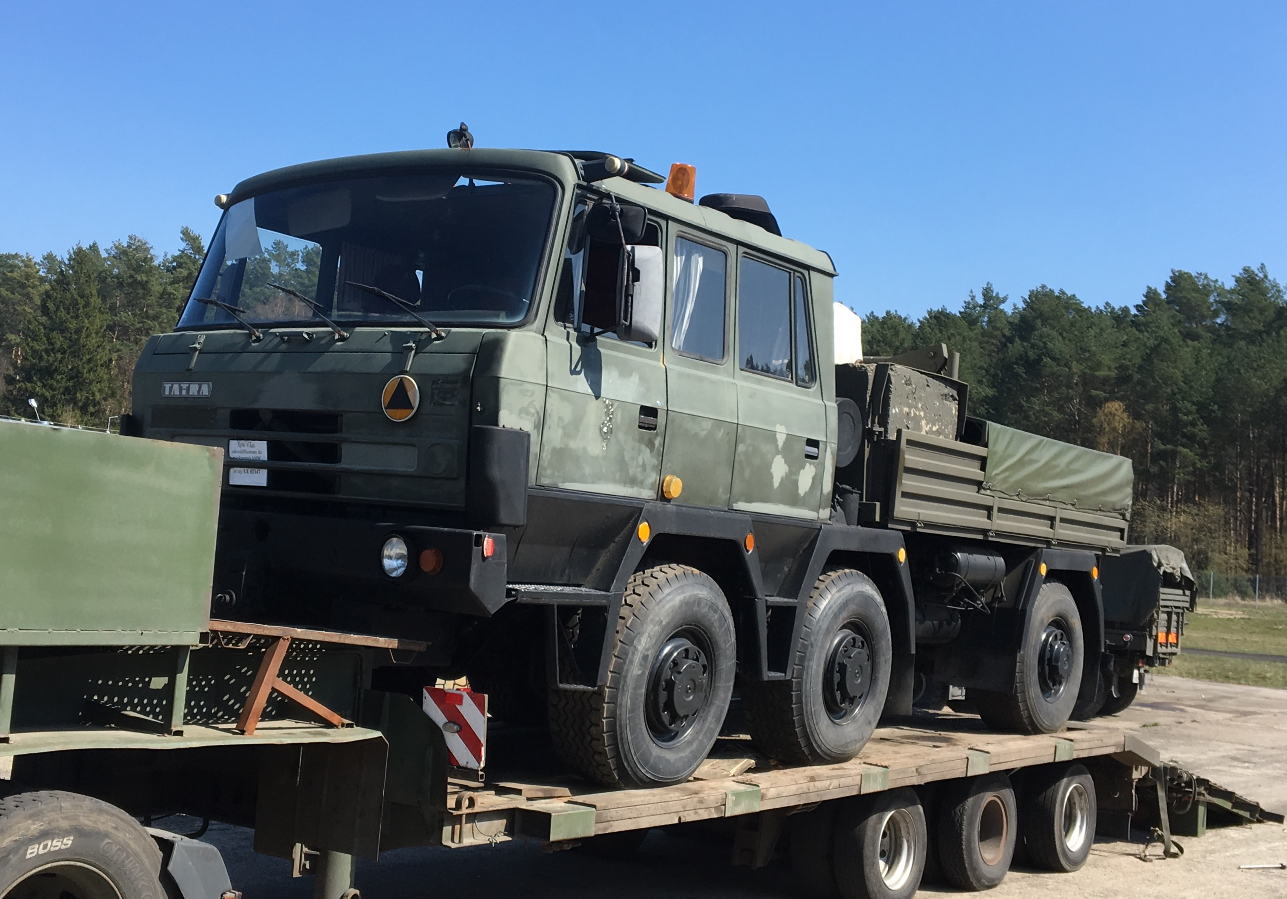 Tatra 815 TP ciągnik ewakuacyjny 6×6